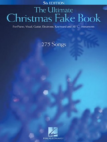 Price comparison product image Ultimate Christmas Fake Book