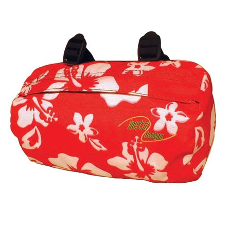 UPC 654239021680, Inertia Designs Beach Cruiser Bag-Red Print