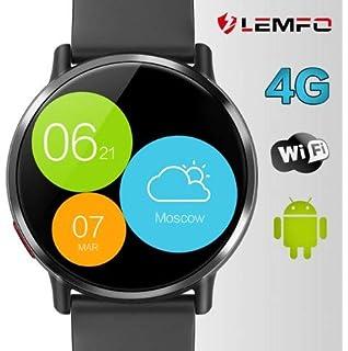 LEMFO LEM X - Ip67 Resistente al Agua Android 7.1 4G Reloj Inteligente móvil - MT6739