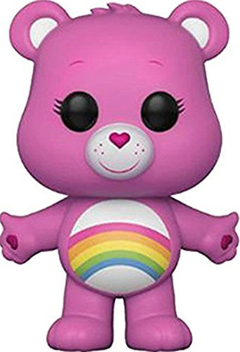 Funko Pop! Animation: Care Bears - Cheer Bear Vinyl Figure (Bundled with Pop Box Protector Case)
