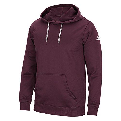 Adidas Embroidered Pullover (Texas A&M Aggies ADIDAS NCAA Hooded Tech Fleece Pullover Men's (S))