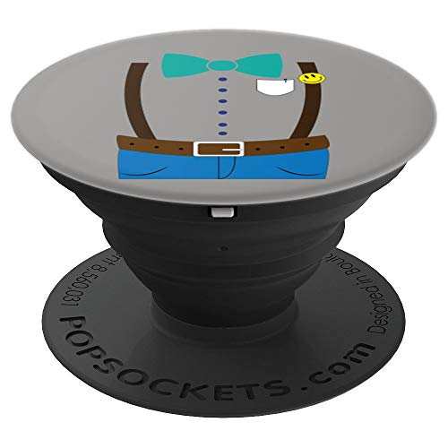 Nerd Costume Halloween Art | Cute Dork Geek Son Gamer Gift - PopSockets Grip and Stand for Phones and Tablets