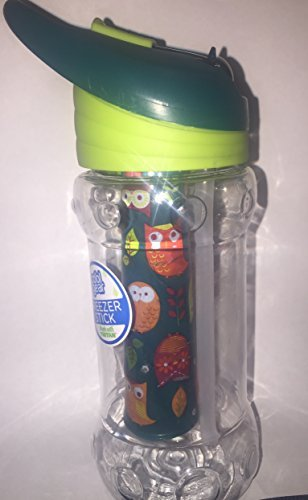 Cool Gear Paloma Printed Owl Water Bottle 14oz Green by Cool Gear