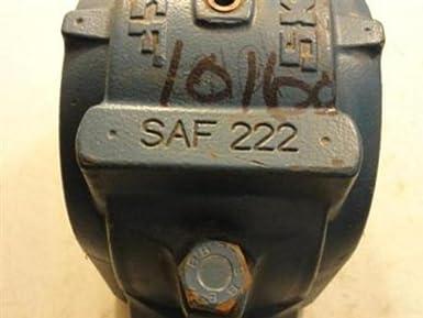SKF SAF 622 Pillow Block Housing Inch 4 Bolts 15-5//16 Bolt Hole Spacing Width 18-3//8 Housing Length 15-5//16 Bolt Hole Spacing Width 18-3//8 Housing Length Cast Iron