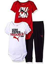 Boys' 3-Piece Creepers and Pant Set