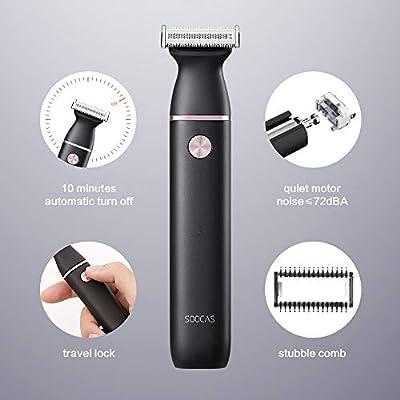 SOOCAS ET2 - Maquinilla de afeitar eléctrica inalámbrica para ...