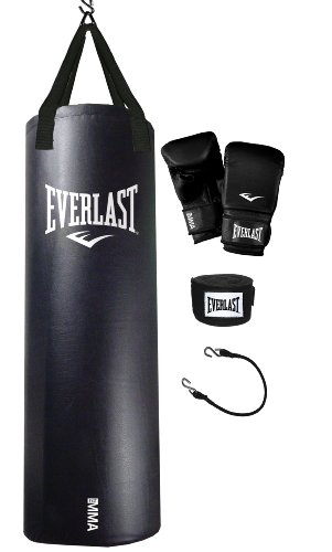 Everlast 70-Pound MMA Heavy Bag Kit
