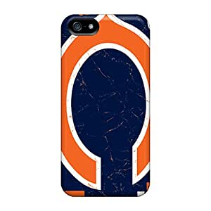 Tpu Case Cover For Iphone 5/5s Strong Protect Case - Chicago Bears Design
