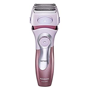 Panasonic ES2216PC Close Curves Women's Electric Shaver, 4-Blade Cordless Electric Razor with Bikini Attachment and Pop-Up Trimmer, Wet or Dry Shaver Operation