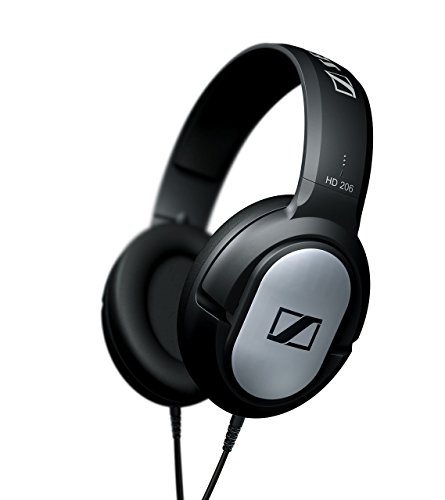 Sennheiser HD 206 Closed-Back Over Ear Headphones ...