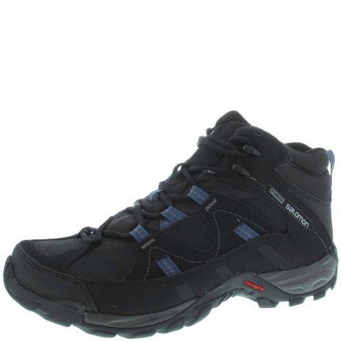 Salomon Hill Pass MID GTX - negro y azul
