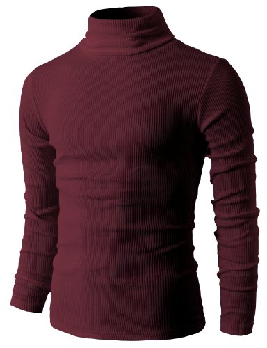H2H Thermal Turtleneck Pullover Sweaters