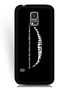 SkinMethods-Fundas Case Cheshire Cat Alice in Wonderland for Samsung Galaxy S5 Mini Defender Fundas Caso para Samsung Galaxy S5 Mini (SM-G800) Animation