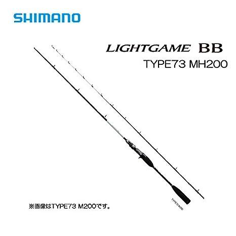 シマノロッドライトゲームBBタイプ73MH200の画像