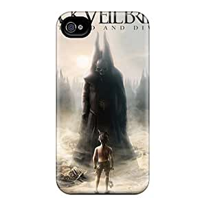 Top Quality Protection Black Veil Brides Band BVB Case Cover For Iphone 4/4s
