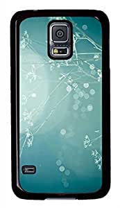 meilz aiaiBlue Dreamy Branch PC Black Hard Case Cover Skin For Samsung Galaxy S5 I9600meilz aiai