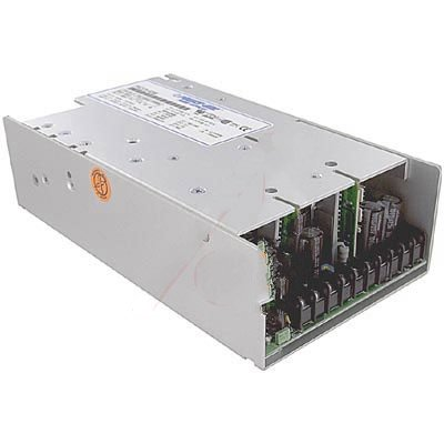 """Power-One PFC375-4200 Power Supply; AC-DC; 5V@10A, 12V@4A, 12V@4A, 24V@10A; 85-264VIn; Enclosed; PFC; PFCSeries"""