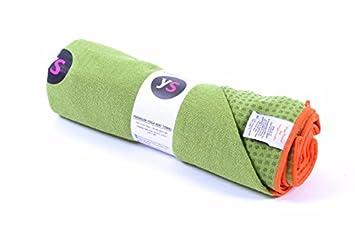 Yoga Studio - Esterilla de Yoga Toallas, Verde (Moss Green): Amazon.es: Deportes y aire libre