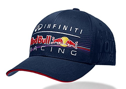 Infiniti Red Bull Racing Navy Race Hat - Import It All 18dcb092cd5