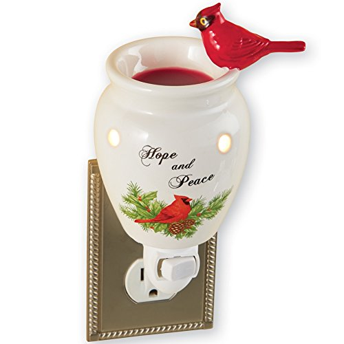 Holiday Cardinal Plug Warmer Multi Colored