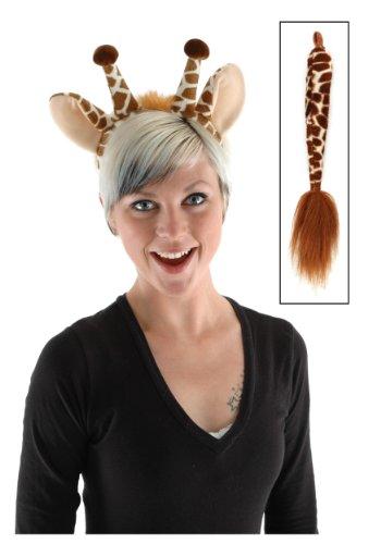 Giraffe Ears Headband and Tail Kit by elope