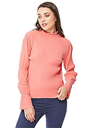 MOVES Blouses For Women, Pink, 38 EU