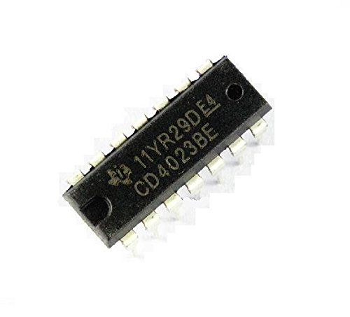 Exiron 2PCS CD4023BE CD4023 TI DIP-14 DIP14 CMOS NAND Gates IC 14pin DIP new