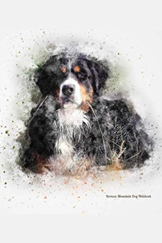 Bernese-Mountain-Dog-Notebook-Stunning-Hand-Painted-Watercolor-Journal