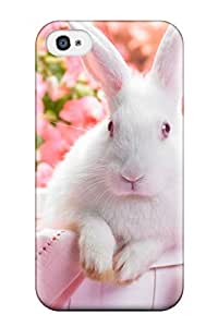 Diushoujuan 3553008K26325877 New Springtime Hare Protective ipod Touch4 Classic Hardshell Case