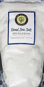 Your Natural Planet Dead Sea Salt-5lb Bag Fine Grain-100% Pure Bath Salt-For Psoriasis, Eczema, Arthritis, Dermatitis, Acne, Dry Skin, Dandruff, and other skin disorders