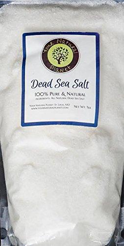 - Your Natural Planet Dead Sea Salt-5lb Bag Fine Grain-100% Pure Bath Salt-For Psoriasis, Eczema, Arthritis, Dermatitis, Acne, Dry Skin, Dandruff, and other skin disorders