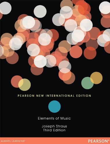 Elements of Music: Pearson New International Edition