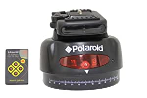 Polaroid Automatic Motorized Pan Head With Wireless Remote Control For SLR Cameras & Camcorders