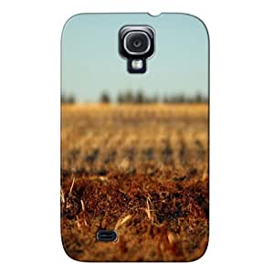 Skid-proof Landscape Nature Silver TPU Autumn Field For Sumsang Galaxy S4 Protective Case