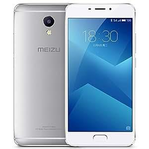 "Original Meizu M5 Note Unlocked Smartphone 5.5"" FHD Helio Octa Core 1.8 GHz 3GB+32GB 4000mAh 13MP Camera Fingerprint GSM & WCDMA & FDD-LTE Cell phone(silver)"