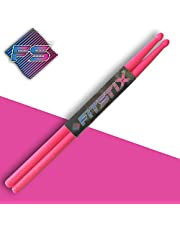 FITSTIX Drumsticks for Fitness & Aerobic Workout Classes, Drum Sticks, Strong and Light Weight design make a fun addition to any exercise routine or class.
