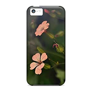 New Arrival Premium 5c Cases Covers For Iphone (flower Shades)