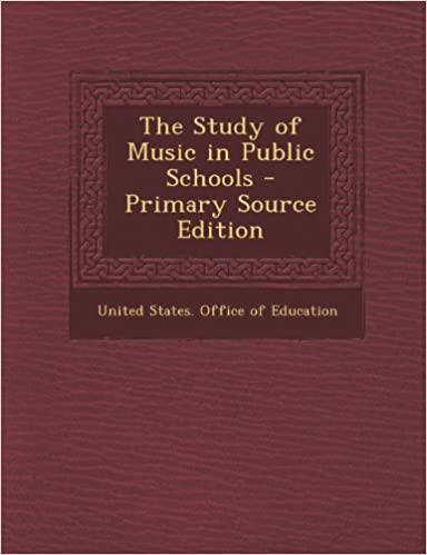 The Study of Music in Public Schools