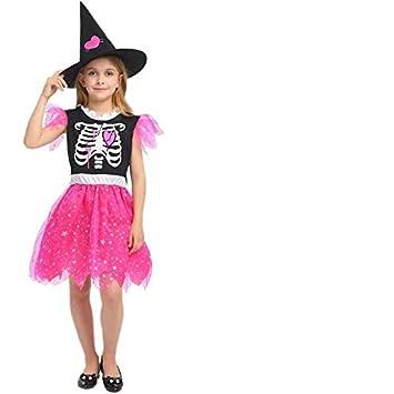 Disfraz de Vestido de Bruja para niños Cosplay, Carnaval y Halloween - Diferentes tamaños