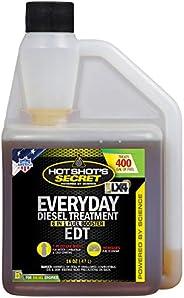 Hot Shot's Secret Everyday Diesel Treatment – EDT 473 ml – Trata até 400 ga