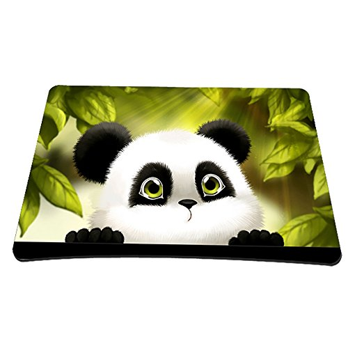 Non-Slip Rubber Base Mousepad for Laptop Computer PC Personality Desings Gaming Mouse Pad Mat 9.45 X 7.87 inch (Panda, 9.45 X 7.87 inch)