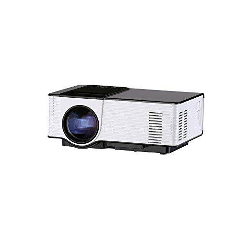 Visiontek Multimedia Lcd Led Projector  Support 1080P Hdmi Usb Sd Card Vga Av For Home Cinema Tv Laptop Game  16 9 4 3 With Hidden Camera  Vs314