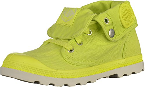 Palladium Baggy Low Lp - Botas Track Mujer amarillo