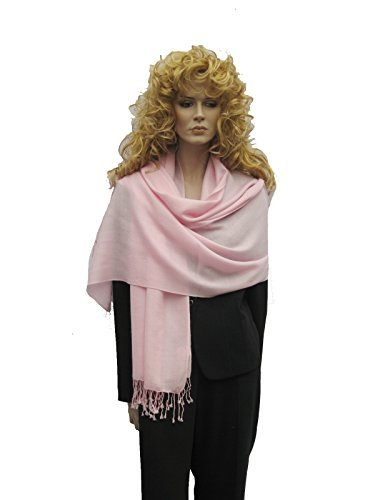WATER SHAWL/SUMMER SHAWL IN MANY COOL VIBRANT COLORS (POWDER PINK)