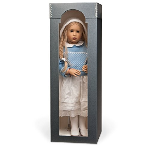 (Gaylord Archival Designer Doll Preservation Box with Arched Window )