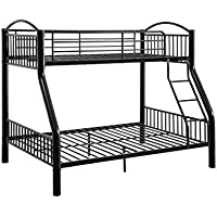 ACME Cayelynn Black Twin over Full Bunk Bed