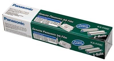Panasonic KX-FA92 OEM Ribbon - KX-FP145 FPG376 377 381 391 Fax Film (210 Pages/Roll) (2 Rolls Box)