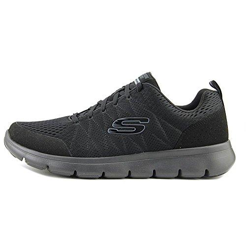 Skechers Marauder‑Mershon Hombre US 10 Negro Zapatillas