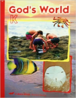 God's World K A Beka by Judy Moore (2009, Paperback)