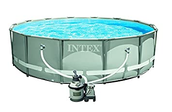 Intex In28312 Ultra Kit De Piscine 4 27 X 1 22 M Amazon Fr Jardin